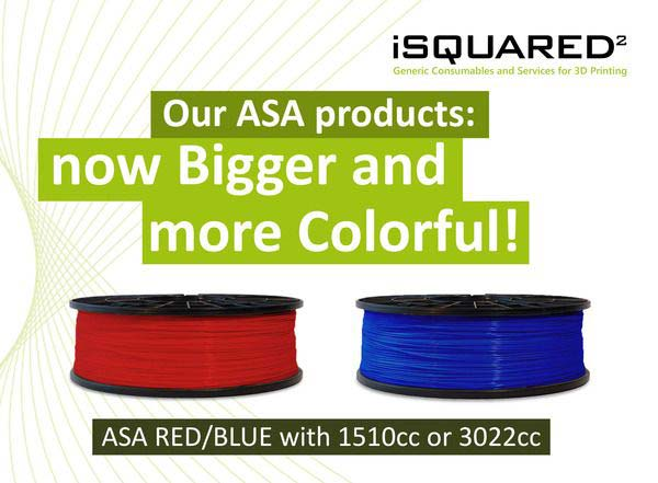 ASA material for Stratasys printers